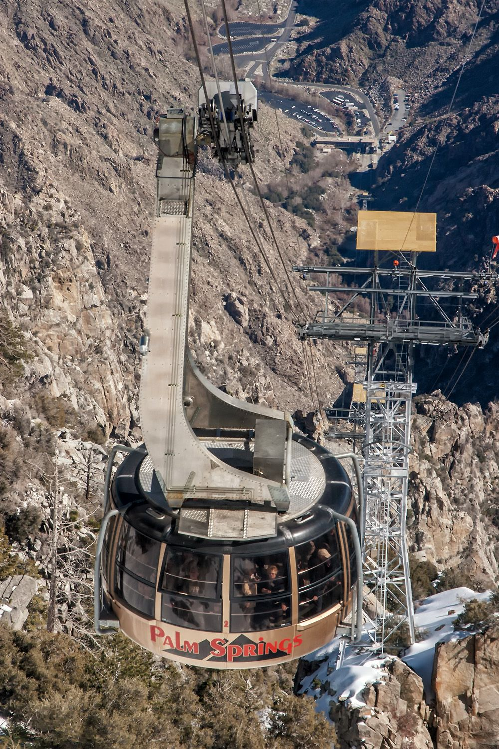 How to see the desert from the sky the palm springs tram