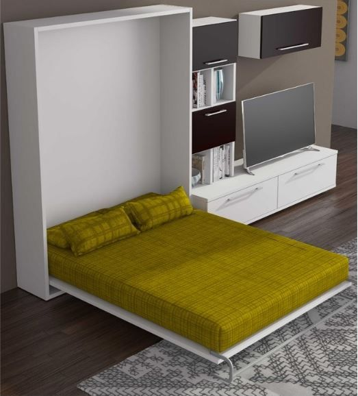 ELEMENT Armoire lit escamotable verticale couchage 2