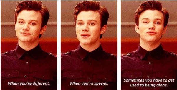 Photo of Kurt Hummel #Glee #quote