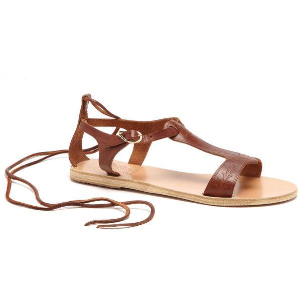 Ancient Greek Sandals Ioli Sandal ($230) ❤ liked on Polyvore
