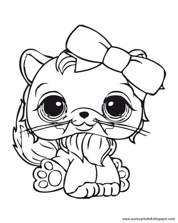 Coloring Pages Coloring Pages Littlest Pet Shop Book Cat Shops
