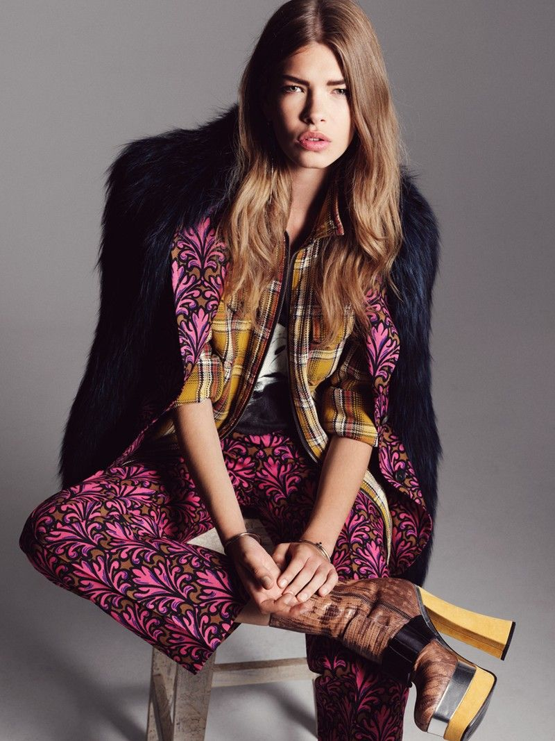 Valerija Sestic Dons Western Style in Nadine Ottawas Annabelle Magazine Shoot