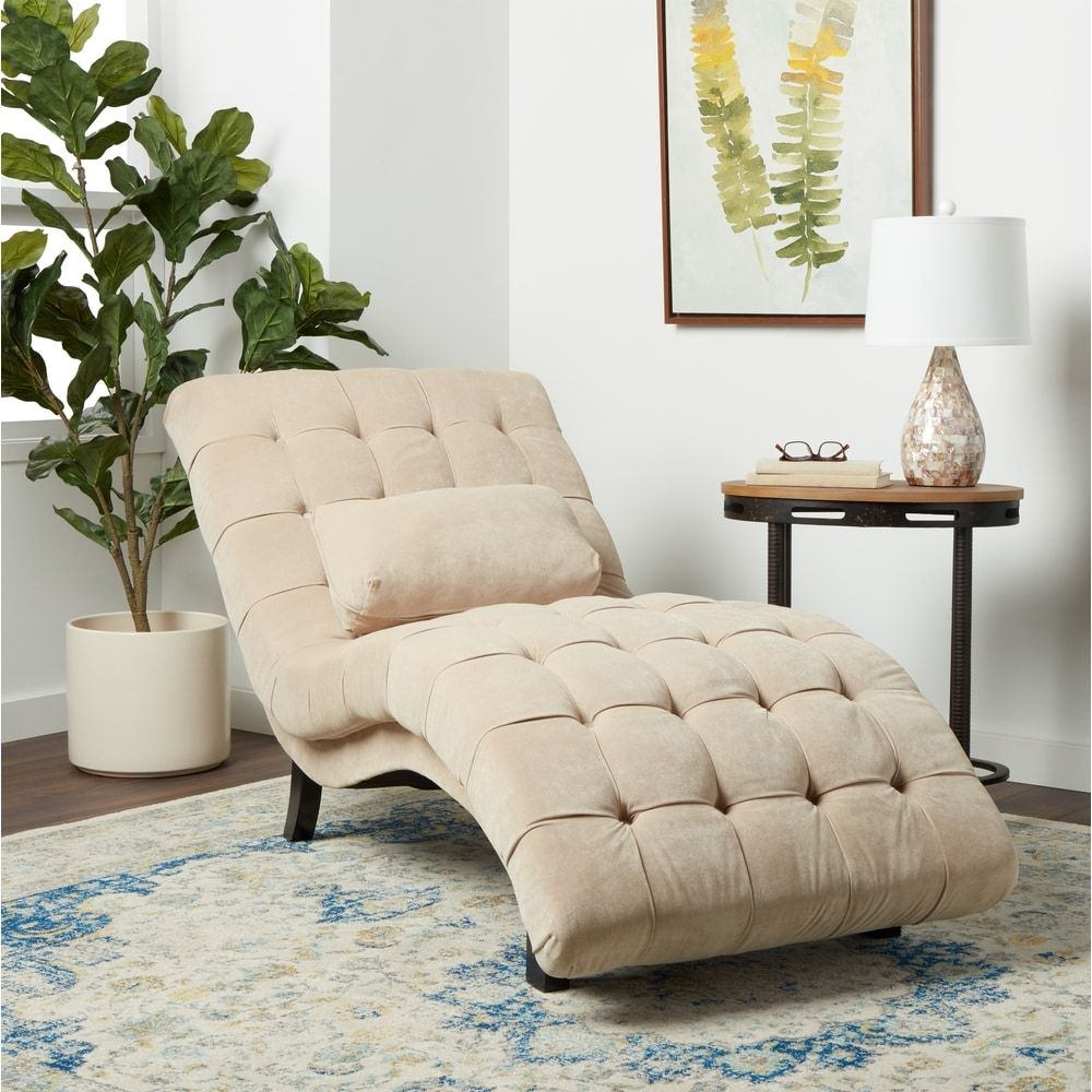 best deals on living room furniture set up abbyson soho beige fabric chaise overstock com shopping the chairs