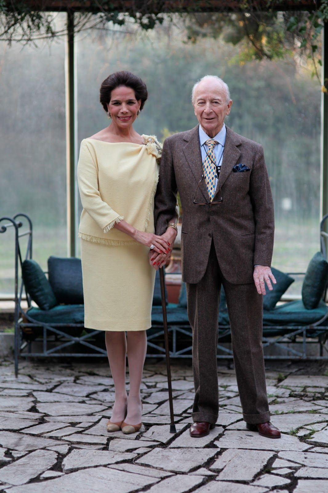 Advanced style 20 of the most stylish senior couples ever