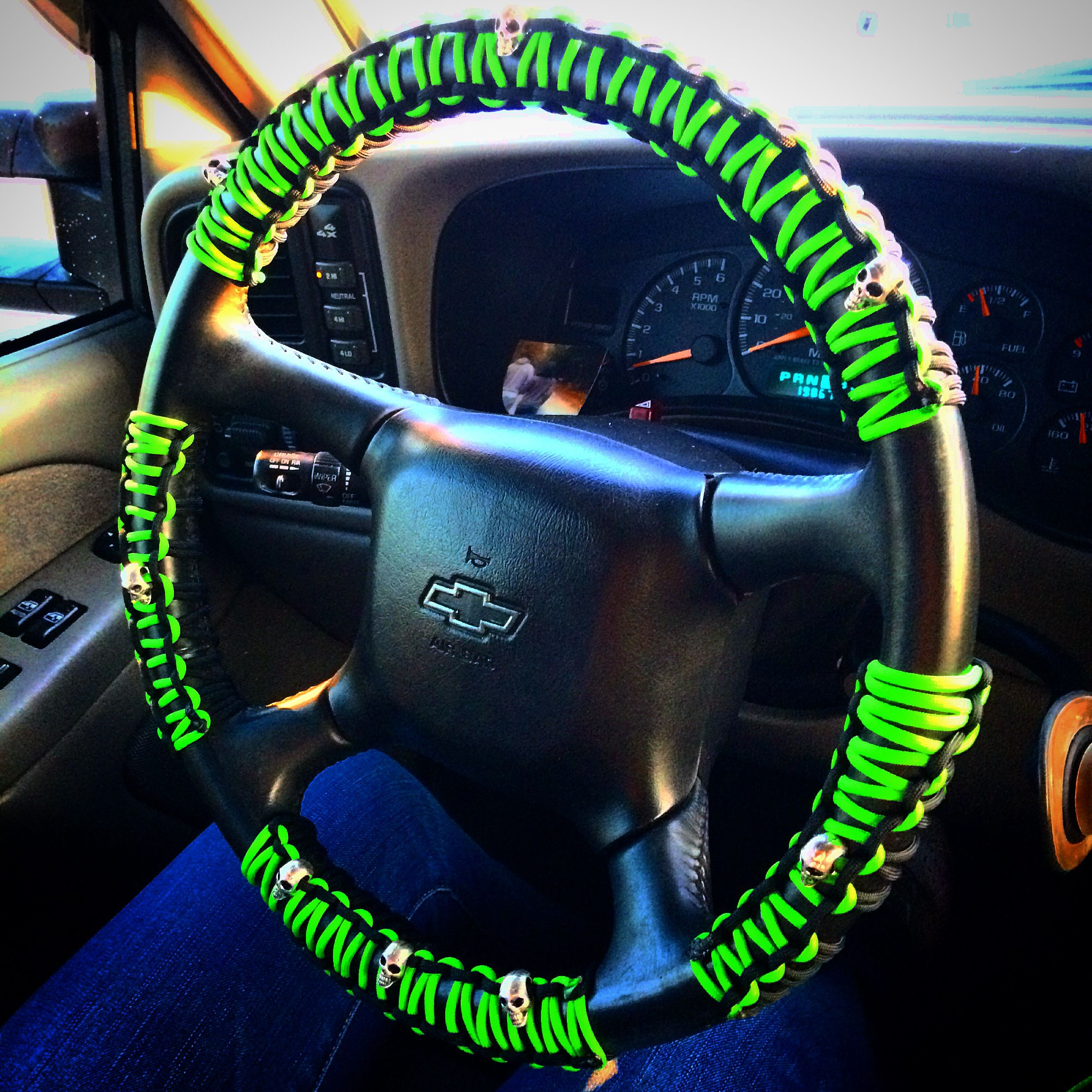 paracord steering wheel cover tank pinterest
