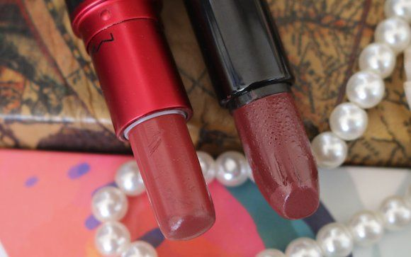 Dupe Alert – MAC Viva Glam 3 v/s Nykaa So Matte Fall Collection Spice Cabernet
