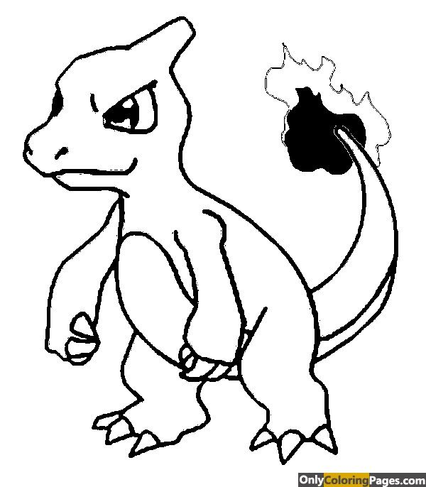 Pokemon Coloring Pages Charmeleon With Images Pokemon Coloring