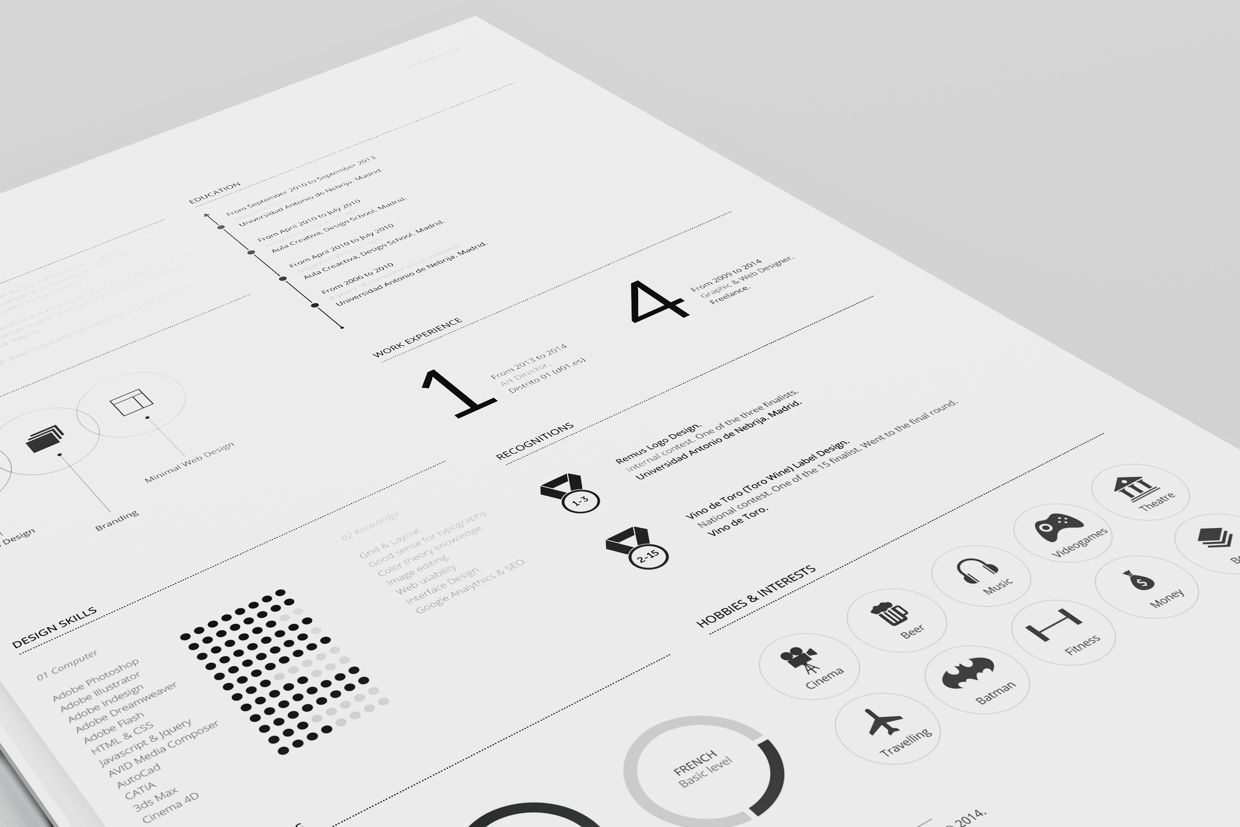 Free Resume Templates  Editorial Design    Free Resume