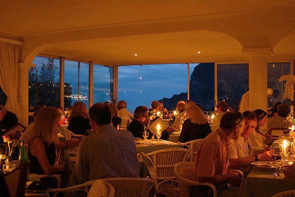 Ristorante Terrazza Brunella Capri Italy Welcome Capri