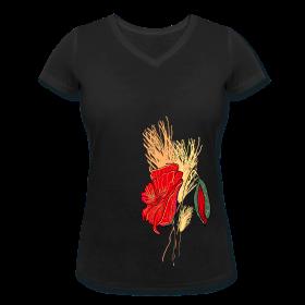Frauen T- Shirt Mohn ~ 1999