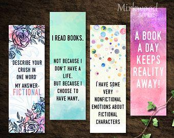Dog Mom Bookmarks, Dog Lover Bookmarks, Instant Download PrintableDog Mom Bookmark Set Love All The Dogs Parent Gift