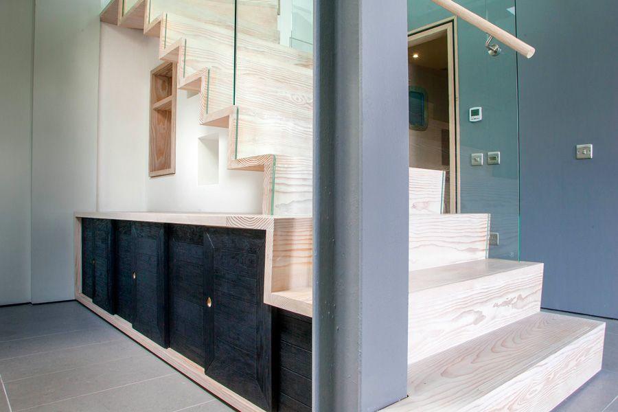 Douglas Fir staircase from Angus & Mack Edinburgh.