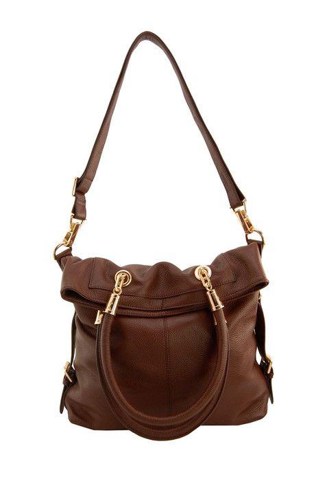 Sutton Genuine Leather Messenger Bag