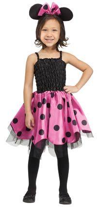 Halloween New Fancy Dress Costume Missy Mouse