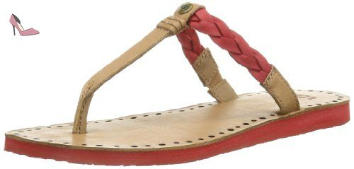 Ugg 36 Rouge Pour Eu tms Femme Rot Tongs Chaussures UUrYqfW