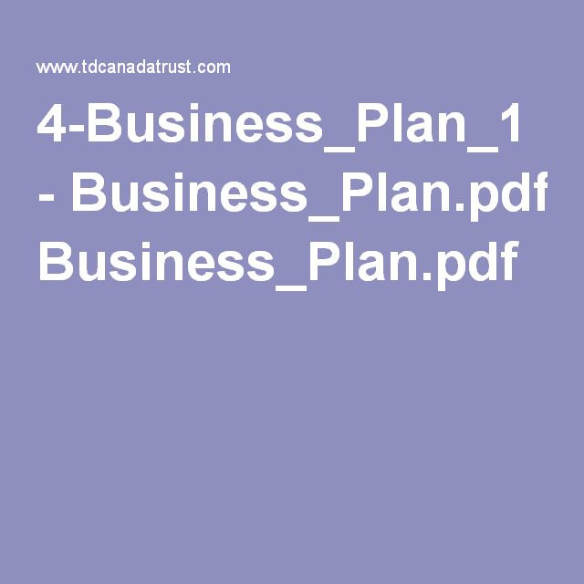 4-Business_Plan_1 - Business_Planpdf Self Employed and - business plan in pdf