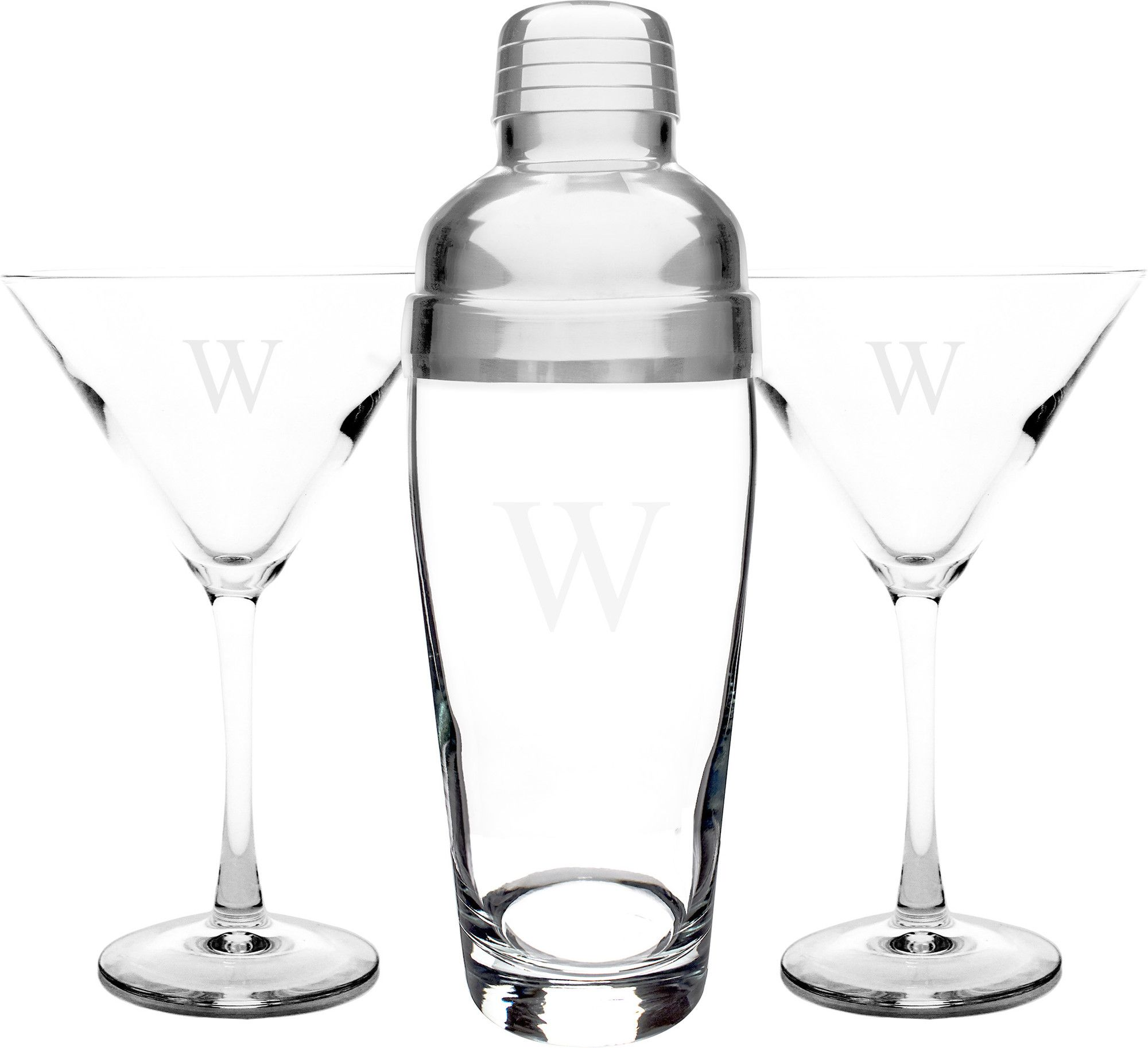 cocktail gift set with glasses
