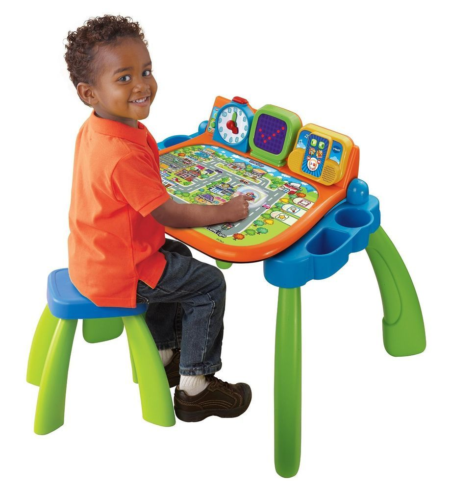 Preschool Kids Activity Vtech Computer Touch And Learn Toddler
