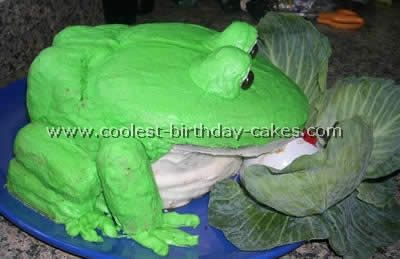 Coolest Frog Birthday Cakes and HowTo Tips Frogs Birthday cakes