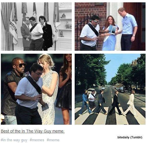 01e29d5f1560eed9f19d925950c27a88 viral funny memes 'in the way guy' draws social media banter