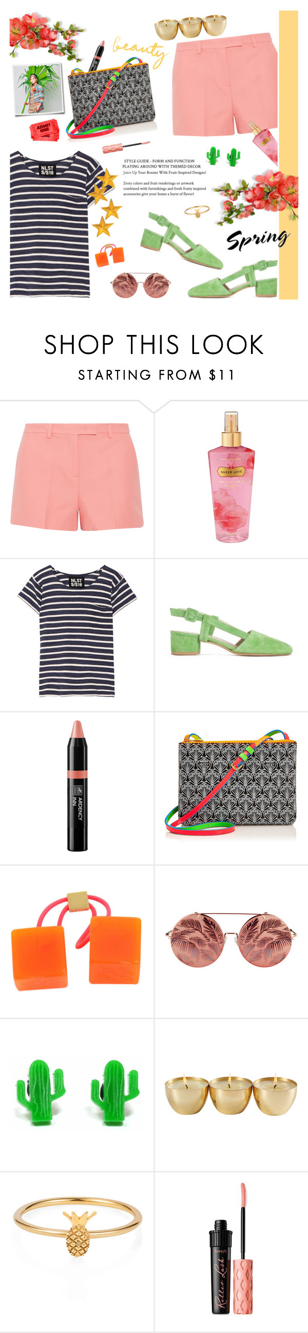 """""""Marine Layer: Striped Shirts"""" by bklana ❤ liked on Polyvore featuring Emilio Pucci, Victoria's Secret, NLST, Maryam Nassir Zadeh, Ardency Inn, Liberty, Louis Vuitton, Matthew Williamson, Finest Imaginary and Lee Renee"""