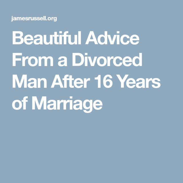tips on dating a divorced man