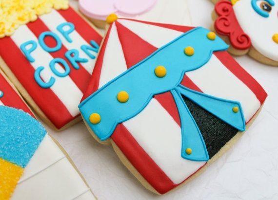 Carnival Circus Tent Cookies by SugarRushMeCookies on Etsy & Carnival Circus Tent Cookies by SugarRushMeCookies on Etsy | me ...