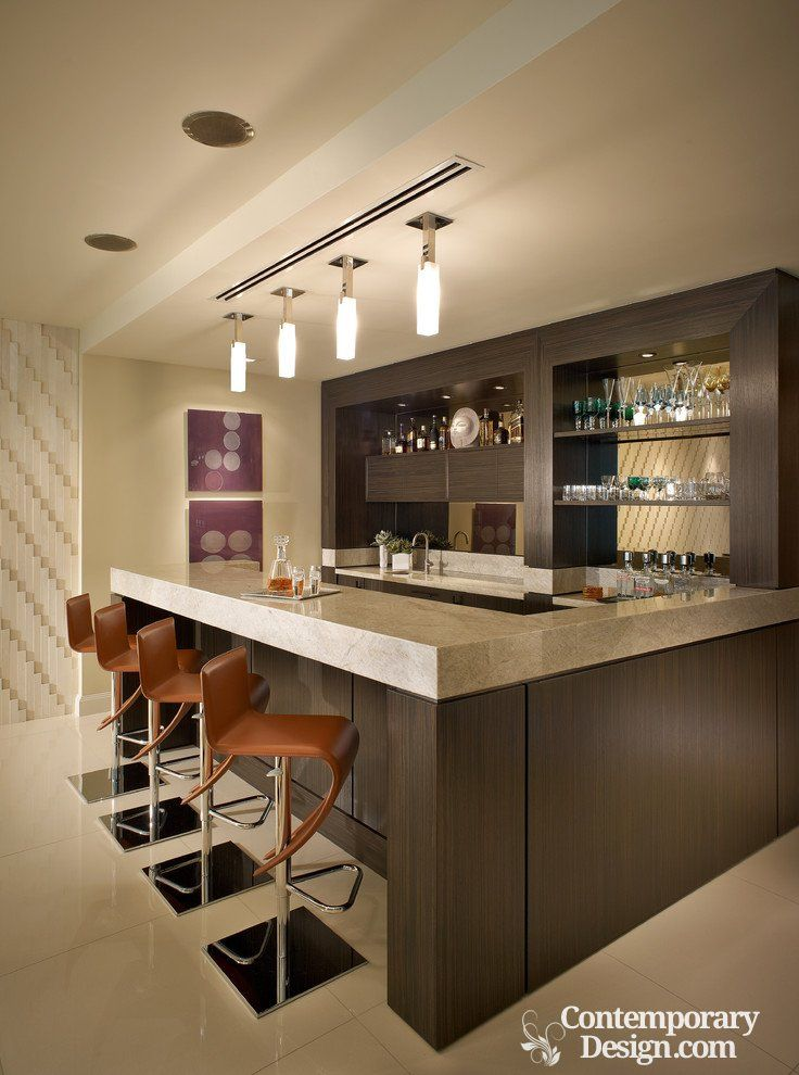 Modern bar counter designs for home | Pinterest | Bar counter design ...