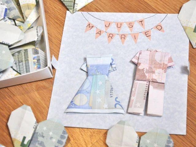 ideas originales para regalar dinero a los novios