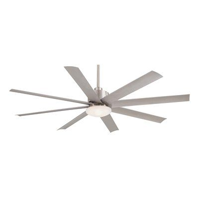 Minka Aire F888 Slipstream 65 In 8 Blade Ceiling Fan Sleek Styling Destines This Bladed Wonder To Make A Cool Statement Any Indoor Or