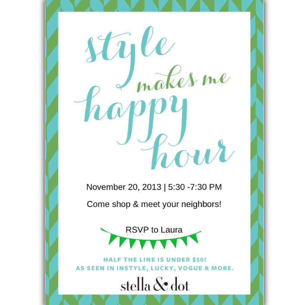 Pin by Laura Voss on stella & dot party  Stella and dot