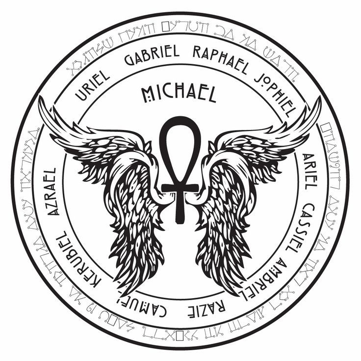 Image Result For Archangel Michael Angelic Symbols Drawing