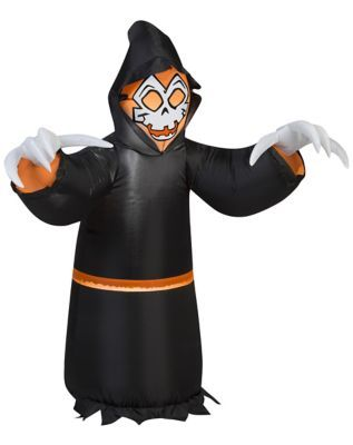 3 Ft Grim Reaper Inflatable - Decorations Halloween inflatable - halloween inflatable decorations