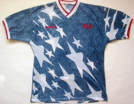 reputable site e940a 6f046 YESSS the 1994 denim and stars kit. Never forget. #USMNT ...