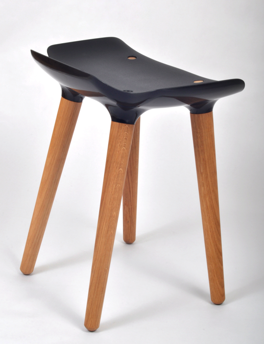 Pilot Stool by Patrick Rampelotto and Fritz Pernkopf.