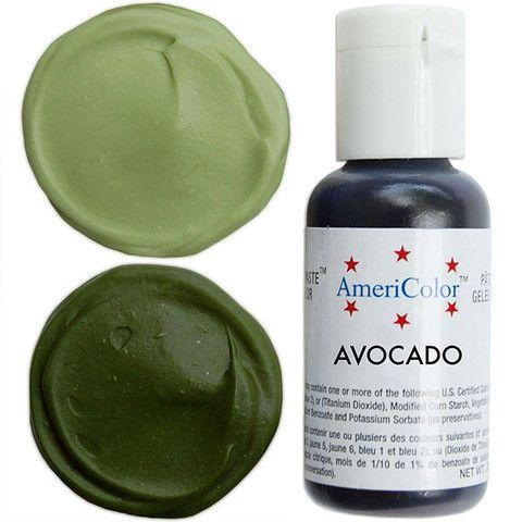 Avocado Gel Paste Food Color | Food Coloring | Pinterest | Food ...