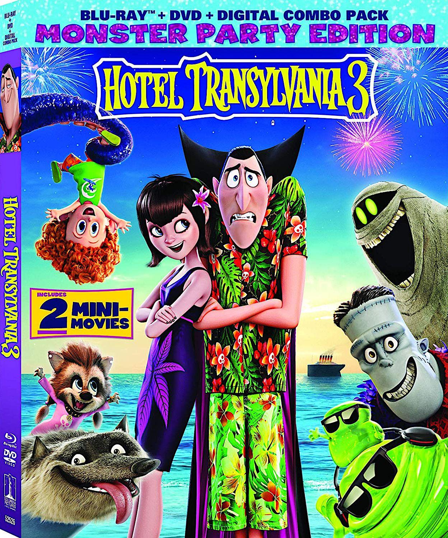 HOTAL TRANSYLVANIA 3 MONSTER PARTY EDITION BLURAY (SONY