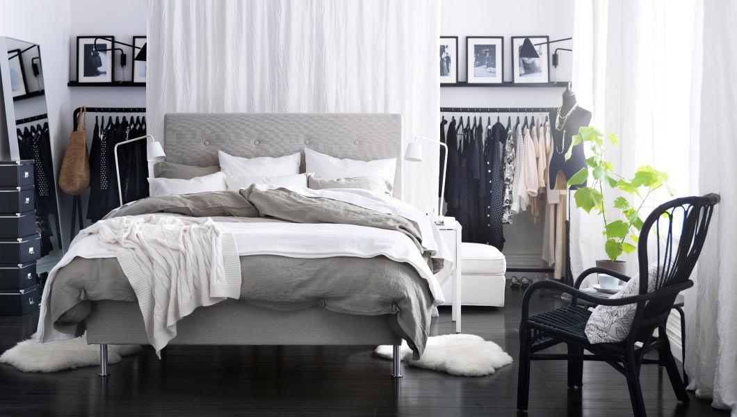Interesting Closet Idea   Modern Bedroom Ikea With Dark Floor