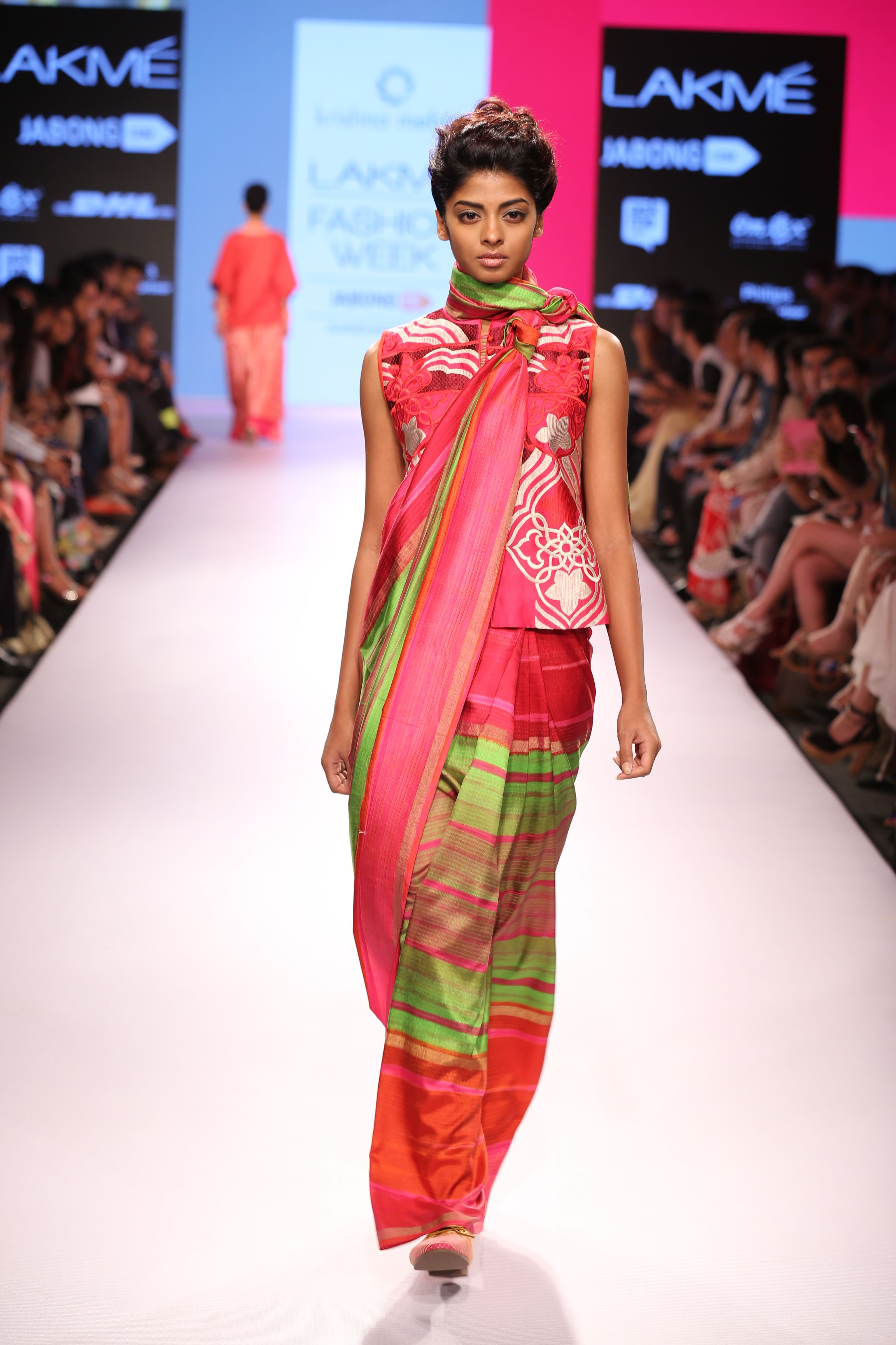 Modern saree models fantastic collection out by krishna mehta only on the official