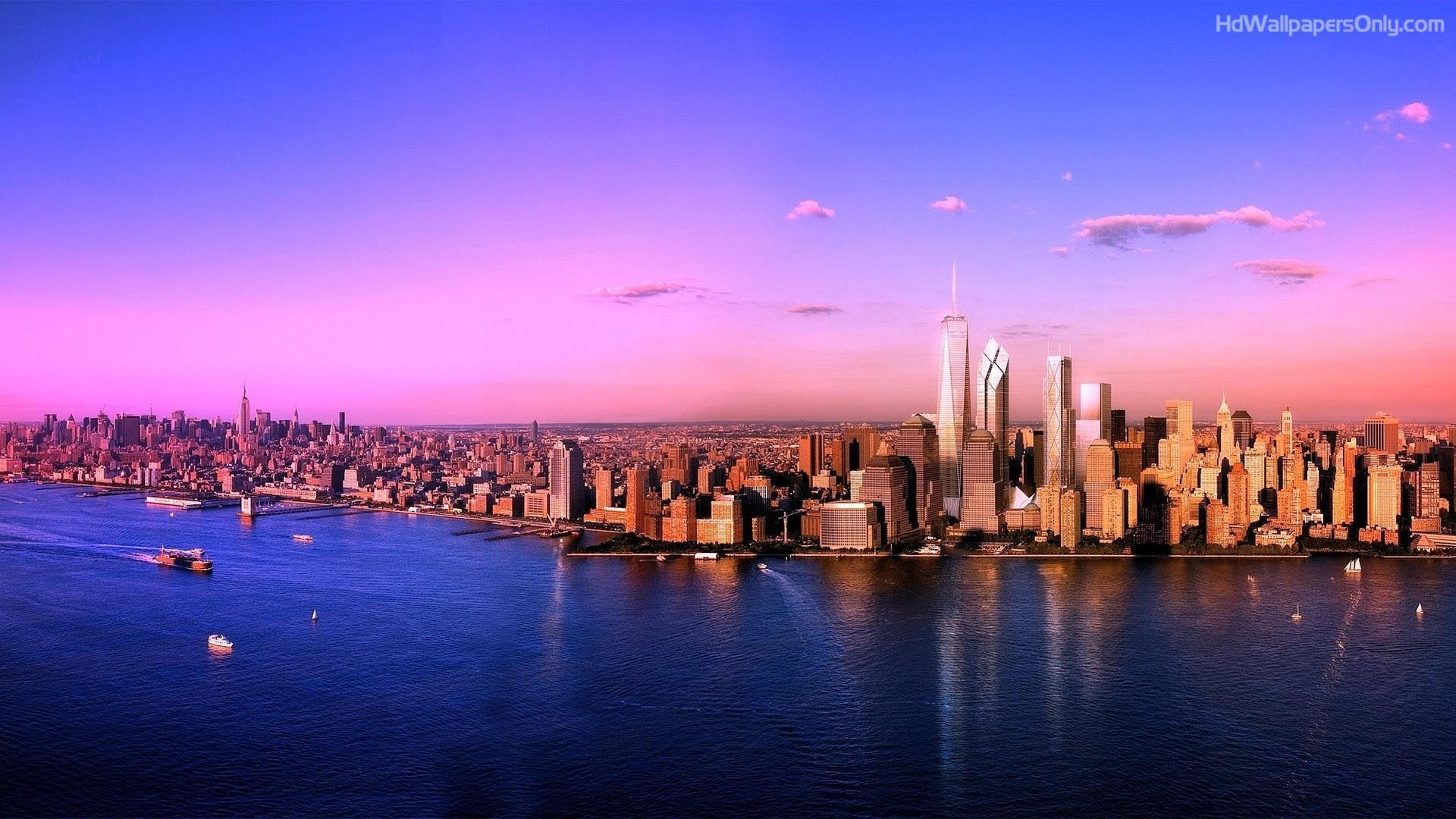 Call It Out For The Love Of The Newyork City Or Nyc As Thy Call It The Most Famous American City To New York Landscape New York Sunset Holidays In