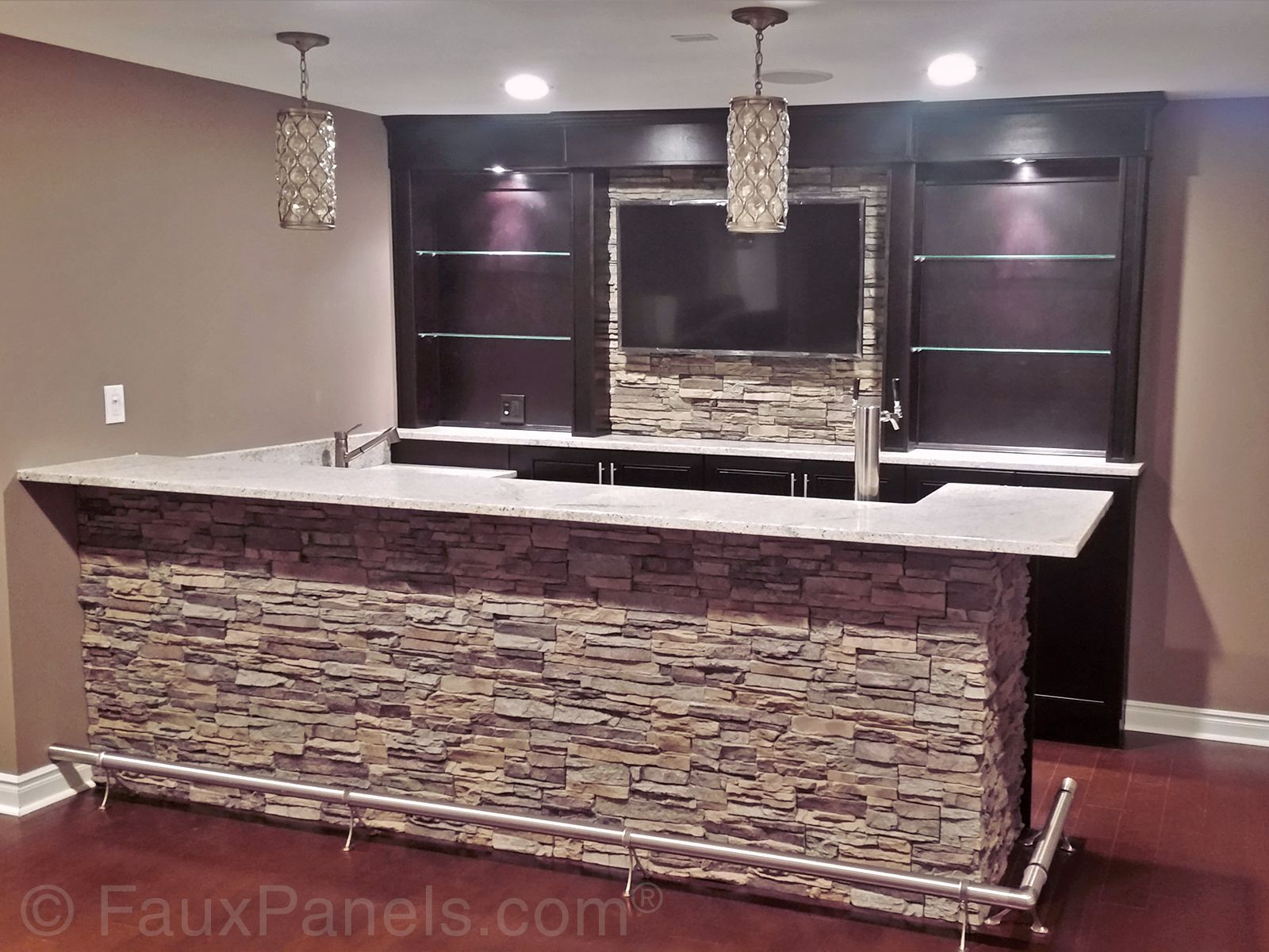 Home bar pictures design ideas for your home bar plans for Basement bar dimensions plans