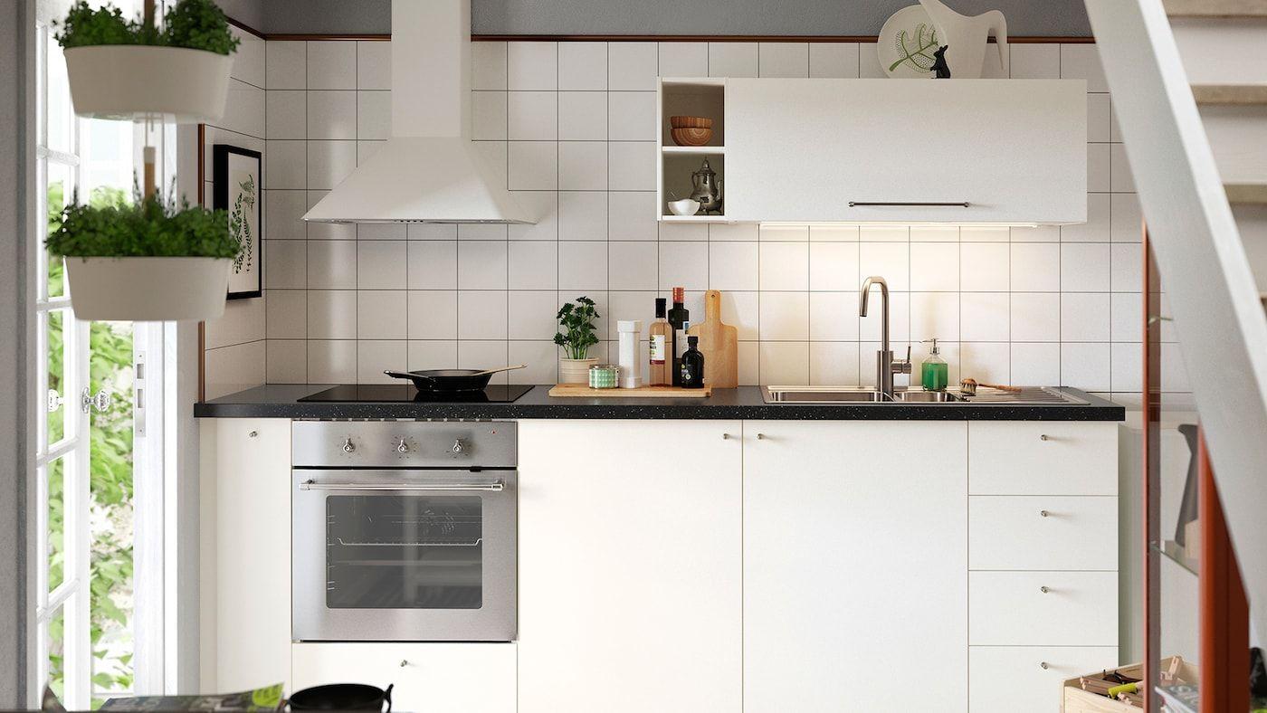 Best Kök Häggeby Köksserie I Vitt Med Modern Stil Kitchen 400 x 300