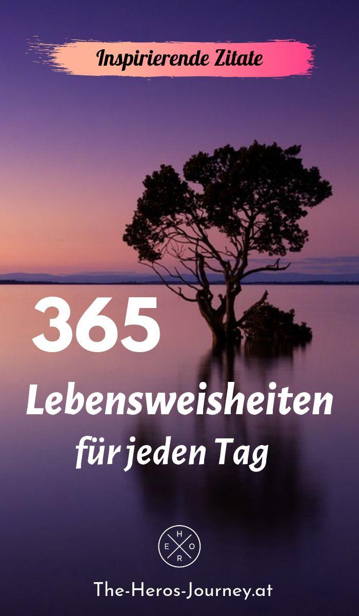365 Worte des Lebens für jeden Tag Zitate - # | Positive