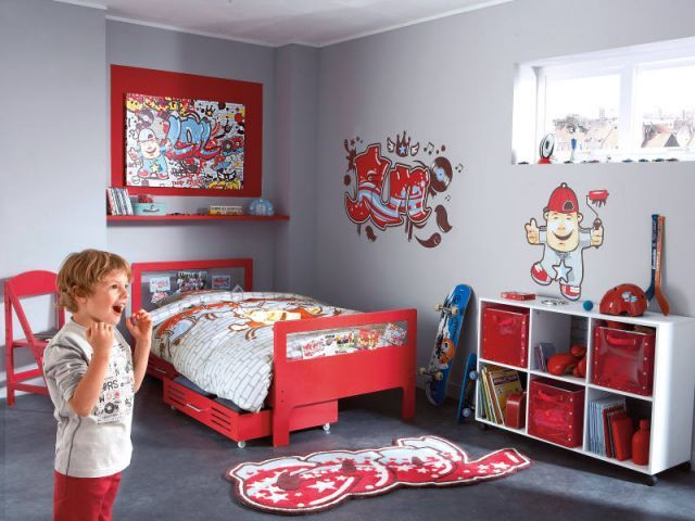 Idee-Decoration-Chambre-Garcon-7-Ans-7.Jpg (640×480) | Chambre