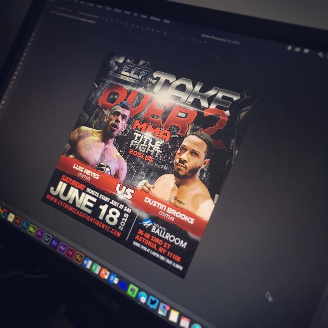 Creating the VS promos for IG. #MMA #mixmartialarts #ufc #kickboxing #muaythai #branding #brandidentity #graphicdesign #graphicartist #typography #cagefight #fighting #fighters