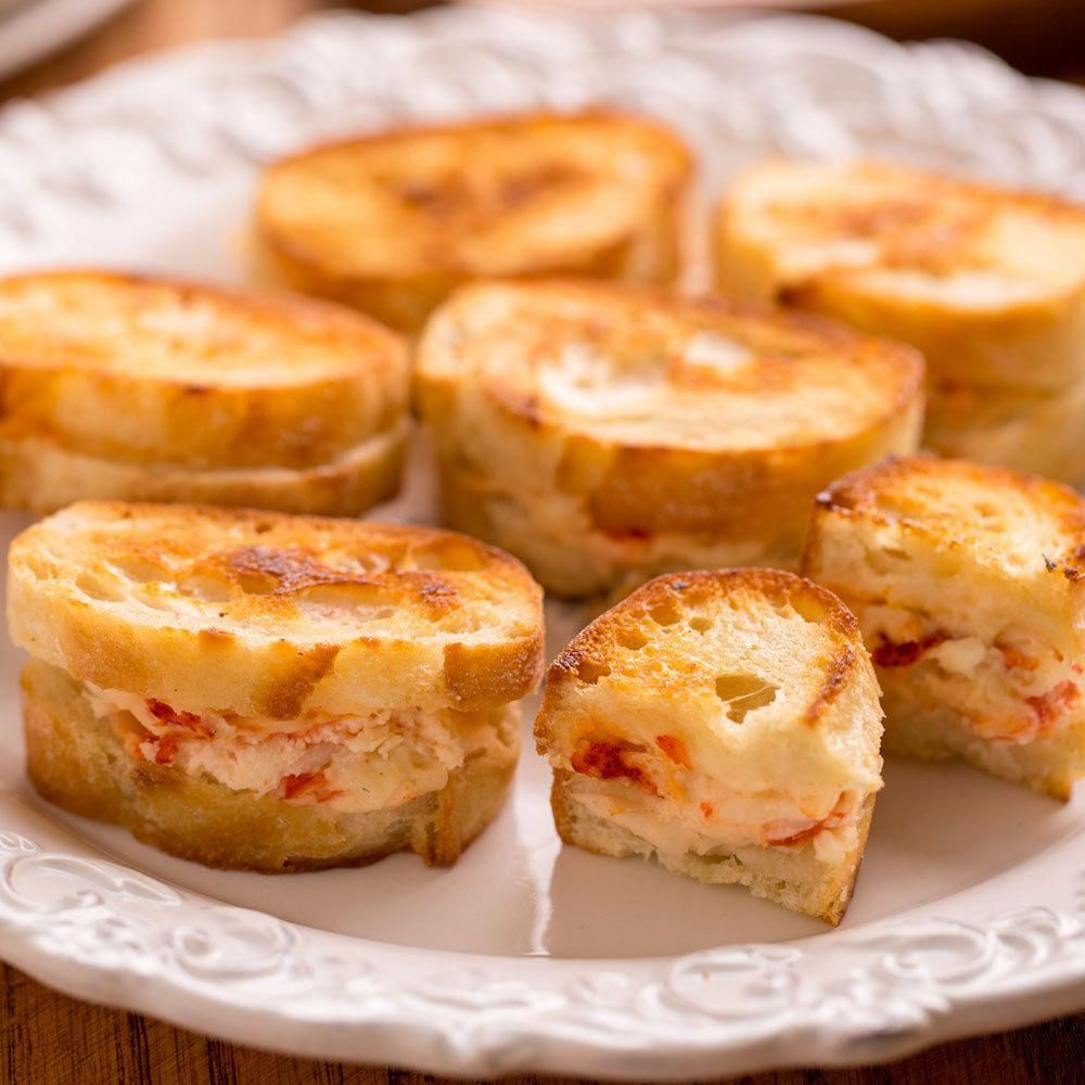 Lobster Grilled Cheese Appetizers ...