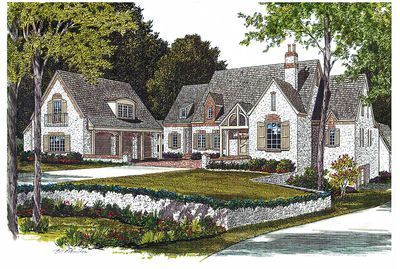 Luxury Houses Drawing