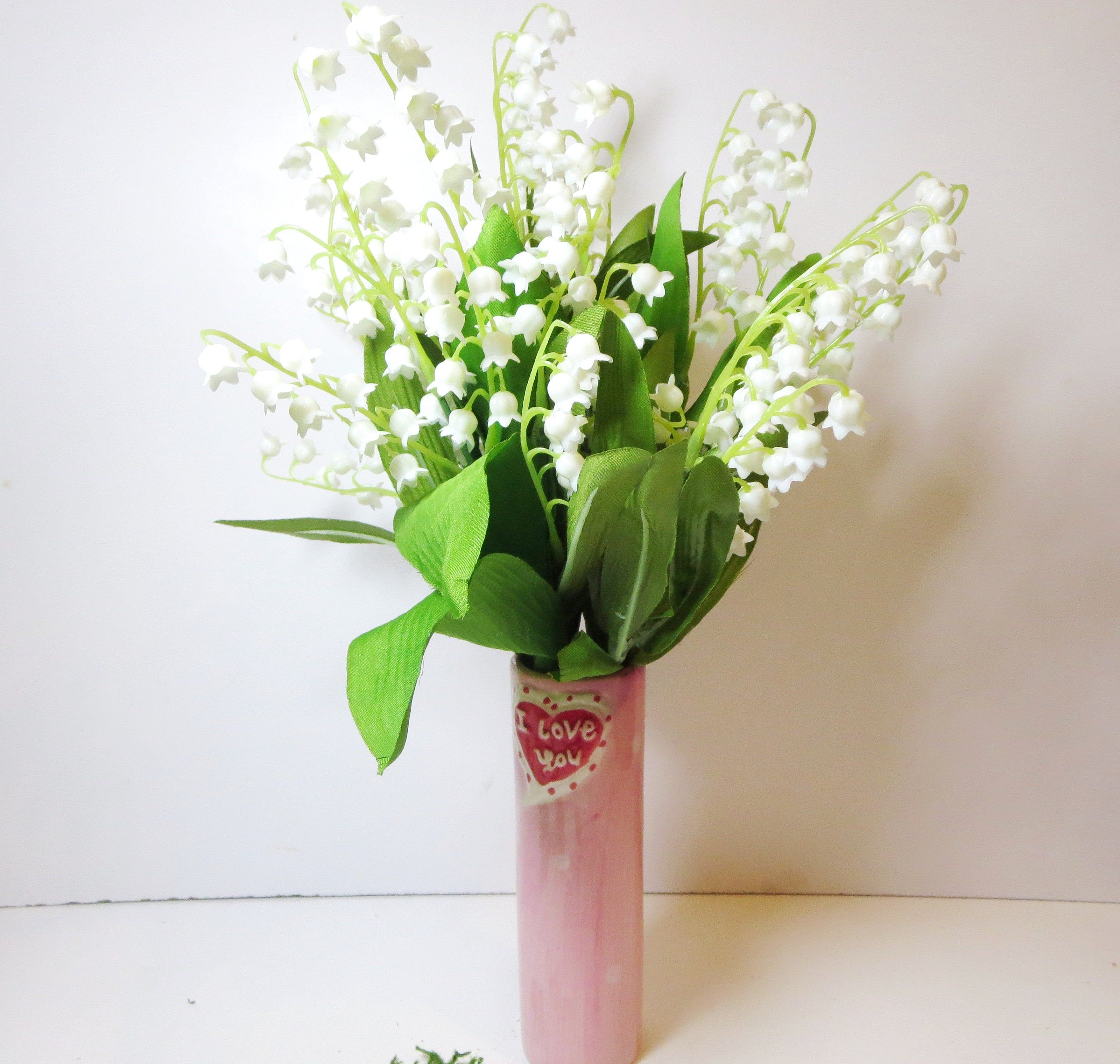 Lily of the valley decor flower arrangement lilies of