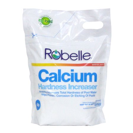 Robelle Calcium Hardness For Swimming Pools 4 Pounds Products Pool Plaster Swimming Pool Water Y Pool Cleaning