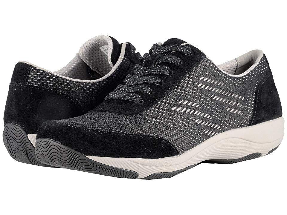 Dansko Hayes Black Suede Women S Shoes Fall Head Over Heels For